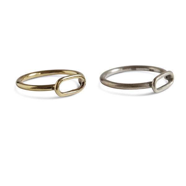 link ring brass